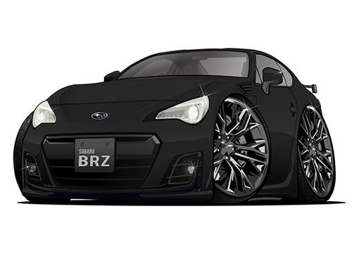 Subaru BRZ Noire