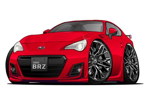Subaru BRZ Rouge
