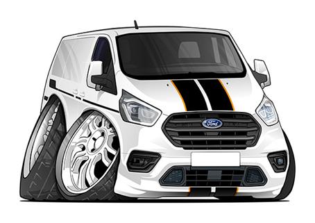 Ford Transit Blanc