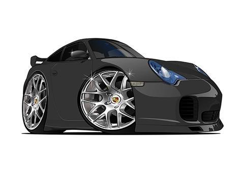 Porsche Carrera Noire