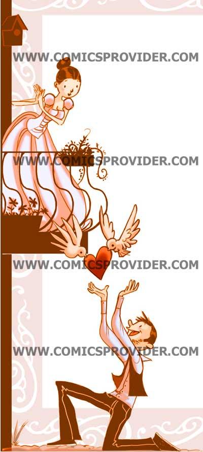 Partecipazione Giulietta e Romeo dettaglio