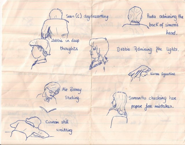 Or was I doodling during an exam?