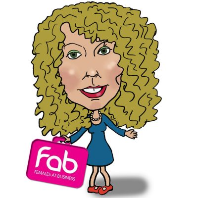 Caricatures by Carmel at the FAB Waterford Awards 2014