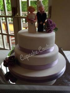 Cupcake Couture Wedding Cake
