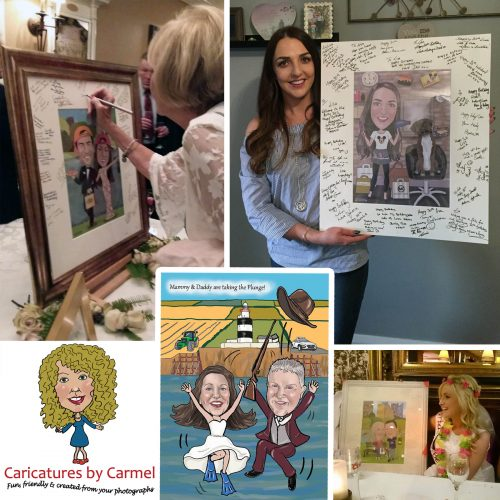 Caricatures by Carmel Gift Vouchers