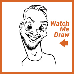 Free Digital Caricature Sketch Perth 01