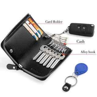 Fasot Zip Around Car Keychain
