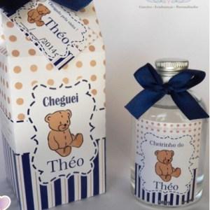 Aromatizador lembrancinha maternidade com caixa Urso