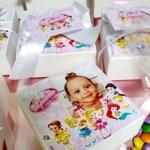 Lembrancinha princesas baby  2 aninhos da Manu