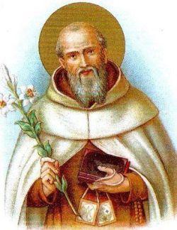 sveti Simon Stock - duhovnik, puščavnik in redovnik