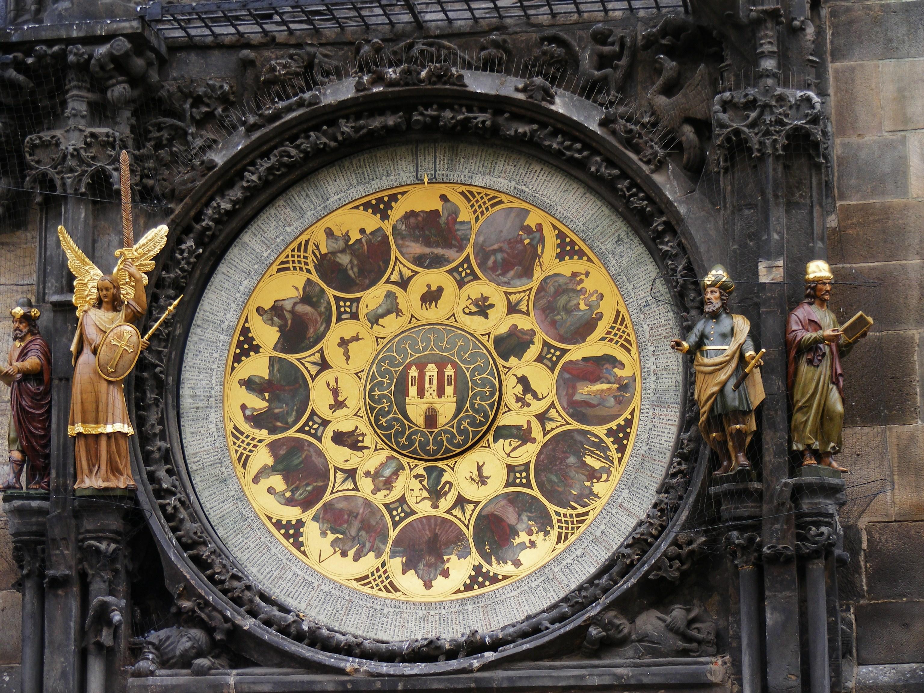 O Relógio Astronómico de Praga - Carimbo no Passaporte