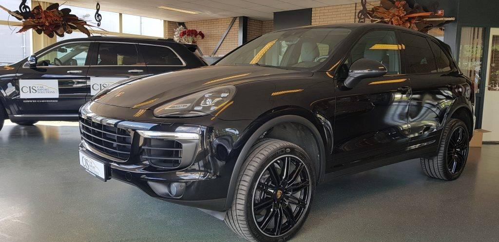 Nano verzegeling op Porsche Cayenne