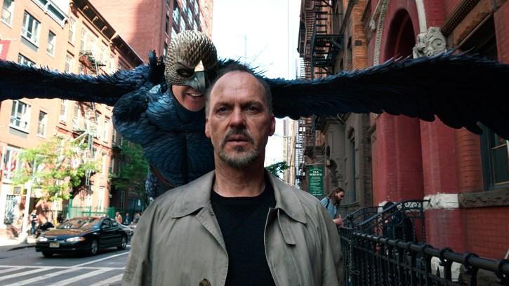 Stillbilde fra filmen Birdman.