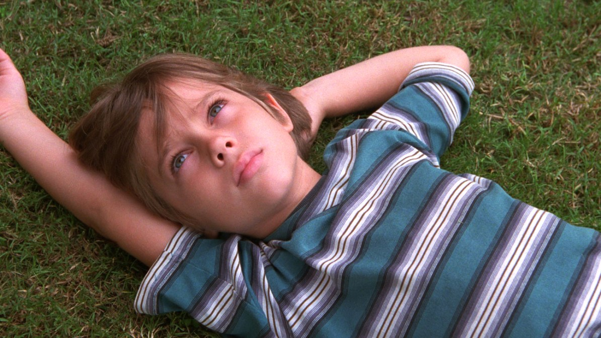 Ellar Coltrane som 6-årige Mason i Boyhood.