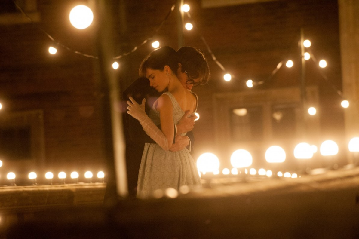 Stephen and Jane Hawking dancing intimately - The Theory of Everything