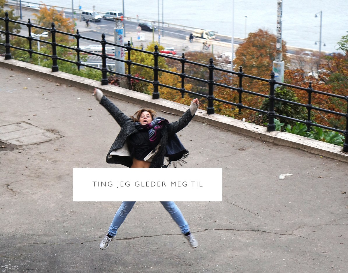 Jeg hopper i Budapest - Carina Behrens - carinabehrens.com