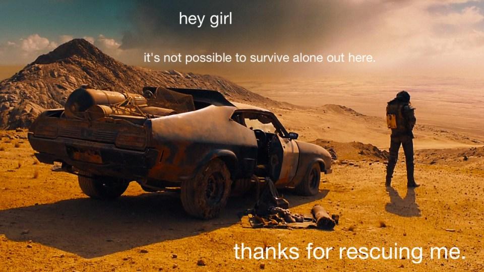 Feminisme i Mad Max: Fury Road - Carina Behrens, carinabehrens.com