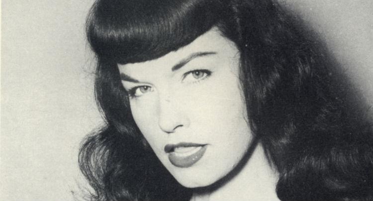 Fem filmer, Bettie Page - Carina Behrens, carinabehrens.com