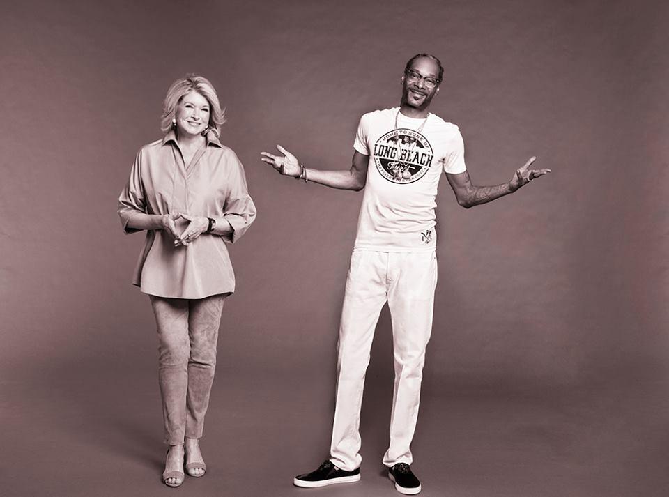 Martha Stewart og Snoop Dogg - Carina Behrens, carinabehrens.com