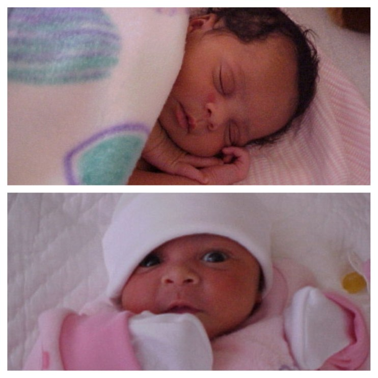 Newborns are just so adorable!