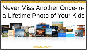 Never Miss Another Once-in-a-Lifetime Photo of Your Kids via @carinkilbyclark