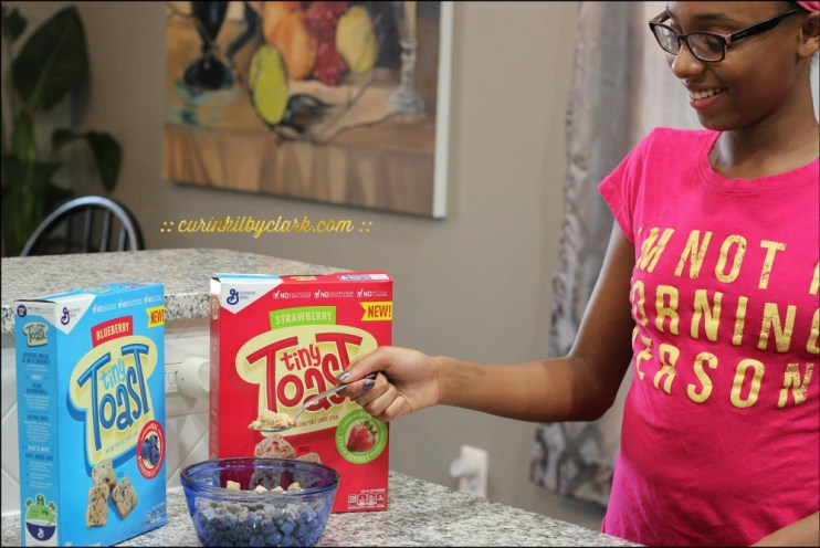 Tiny Toast Makes Breakfast (and Snacks) Easy and Fun For Teens