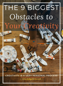 The 9 Biggest Obstacles to Your Creativity