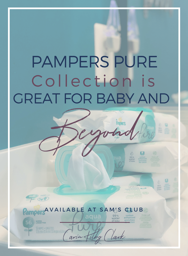 Pampers Pure Collection is Great for Baby and Beyond