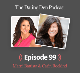 Carin on The Dating Den Podcast