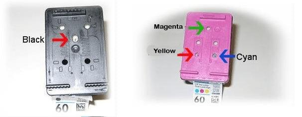 Cara refil Tinta Printer HP dengan Suntik Catridge