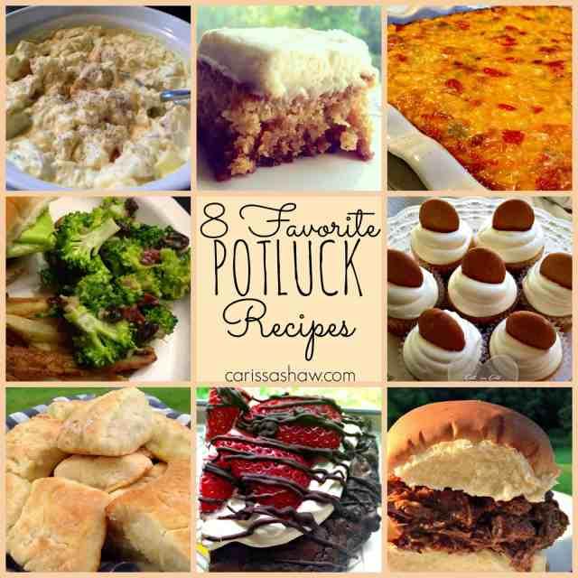 8-favorite-potluck-recipes