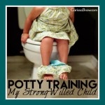 Potty Training My Strong-Willed Child