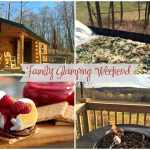 Family Glamping Weekend – Grilled Pizza and Raspberry S'mores