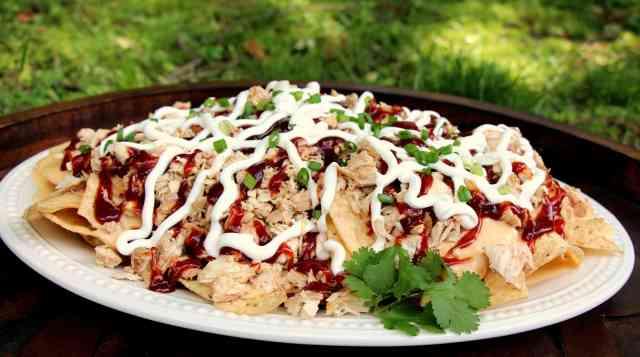 BBQ Pulled Chicken Nachos 3