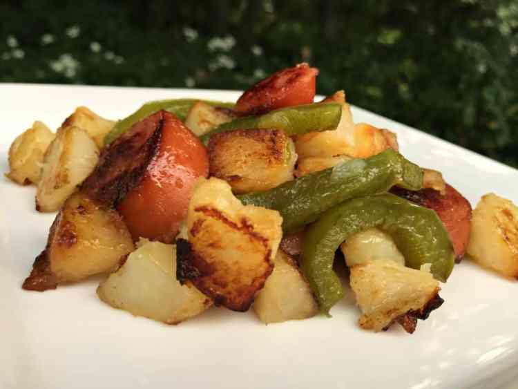 cheap meal ideas, cheap dinner recipes, kielbasa