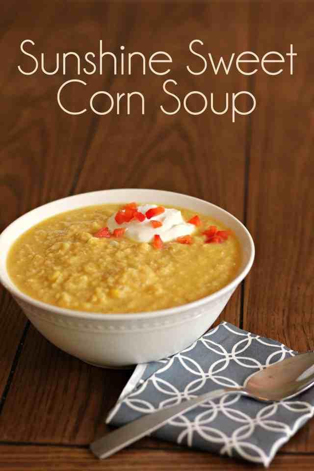 Sunshine Sweet Corn Soup 6