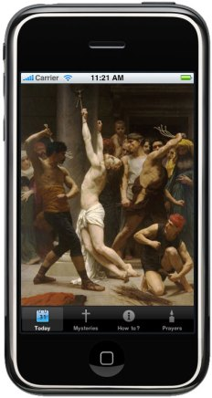 ProLife Rosary iPhone App-Scourging