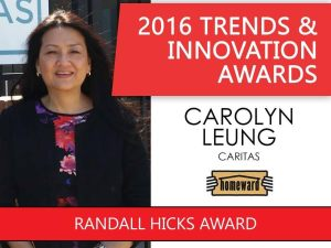 2016 Trends & Innovation Awards Randall Hicks Award pic