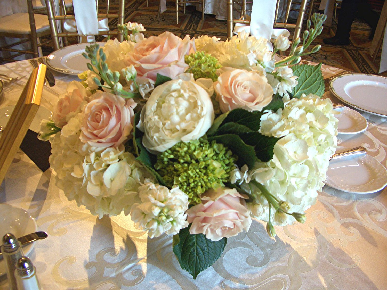 Wedding Reception Flowers, Centerpieces, Decorations