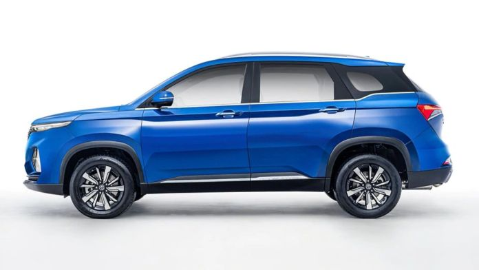 MG Hector Plus 7-Seater Dimensions