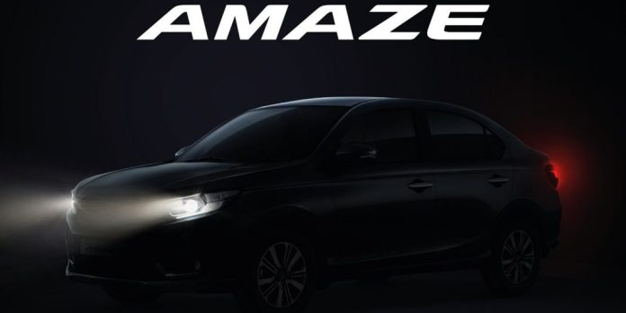 Honda debuted the new 2021 Amaze facelift in India