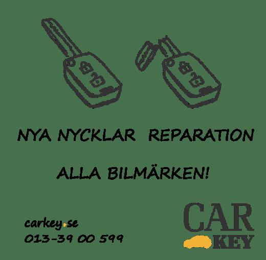 Bilnycklar i Åtvidaberg