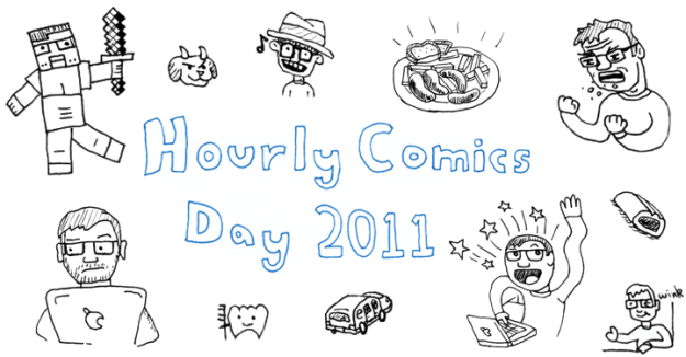 Carl Mitchell's Hourly Comic Day 2011