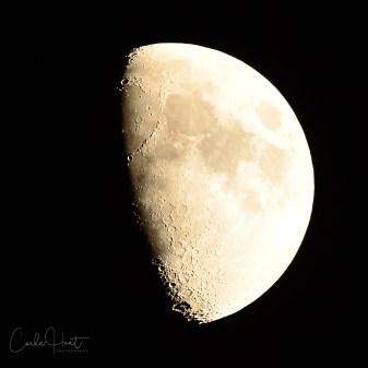 Moon over Vernon, BC