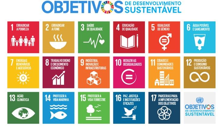 17 Objetivos do Desenvolvimento Sustentável