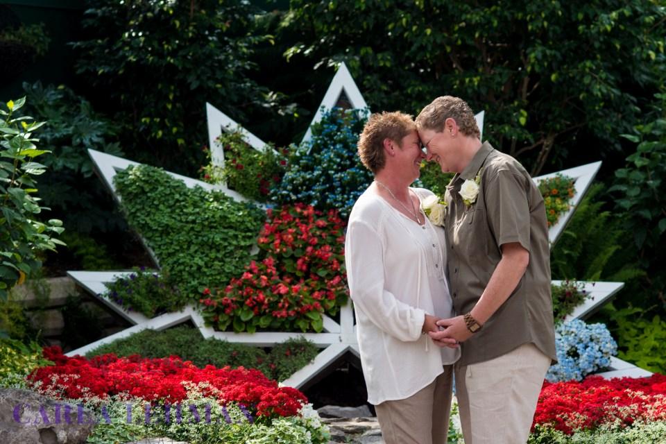Canada 150 Wedding Portrait