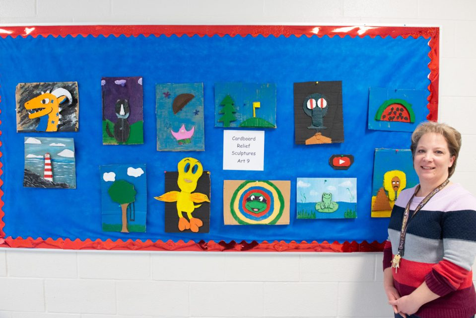 A teacher's pride and joy, she's unable to take it down Documentary Photo Essay
