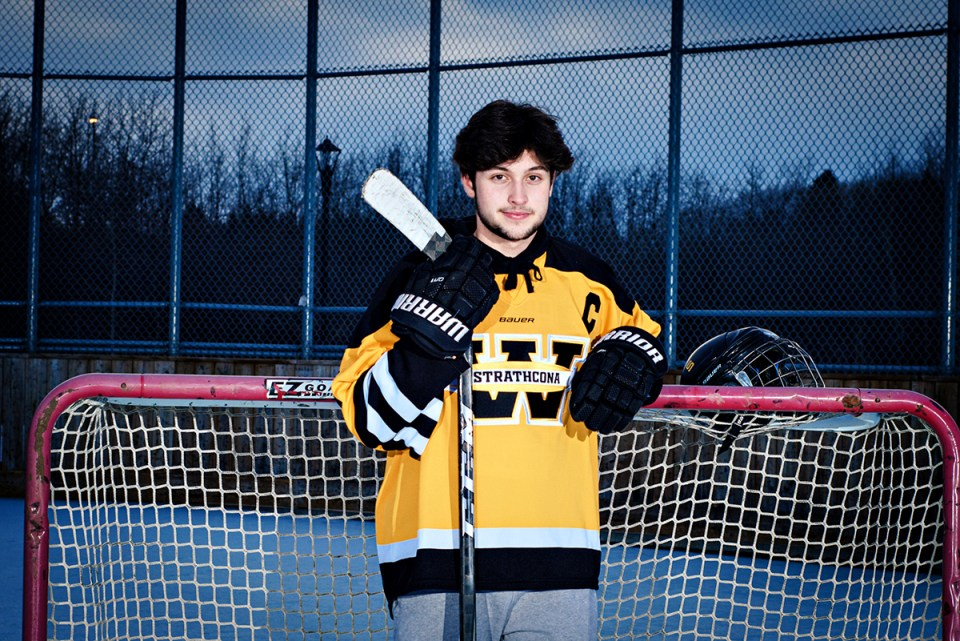 Strathcona Warriors  outdoor sports team photography