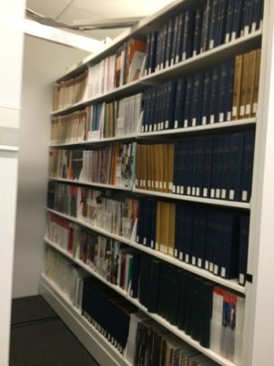 Stack Storage for Circulating Books in the Collection
