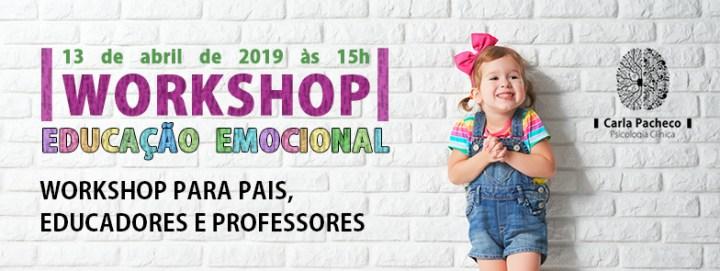 Workshop educação emocional Coimbra